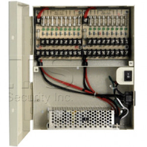 LTS DV-AT1215A-D10 18 Fused Protected Outputs Power Distribution Box
