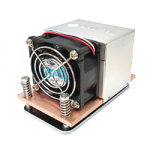 Dynatron A27G 2U and up Server CPU Cooler for AMD Socket AM2 / AM2+ / AM3, 60mm Dual Ball Bearing Fan