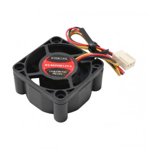 Evercool EC4020M12CA 40mm 12V 3-pin Ball Bearing DC Fan
