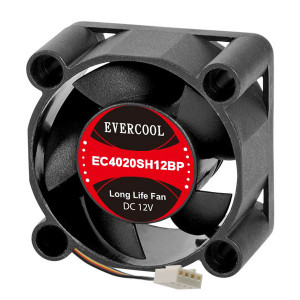 Evercool EC4020SH12BP 4-Pin PWM Fan