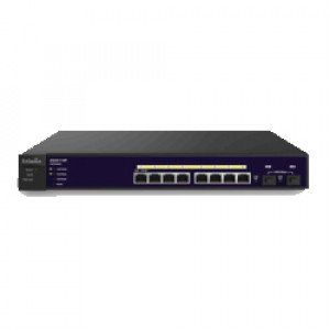 EnGenius 8-Port Gigabit PoE+ Management Smart Switch with 2 Gigabit SFP