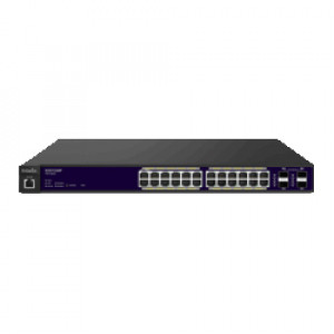 EnGenius 24-Port Gigabit PoE+ L2 Managed Switch with 4 Dual-Speed SFP