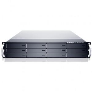 Sans Digital EliteNAS EN212L+BXE 2U 12-Bay Nehalem Hardware RAID 6 NAS + iSCSI Rackmount Server.