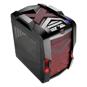 Aerocool Strike-X Gaming Cube Case EN52780 (Black/Red)
