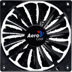 Aerocool Shark Black Edition 140mm Fluid Dynamic Bearing Case Fan EN55451