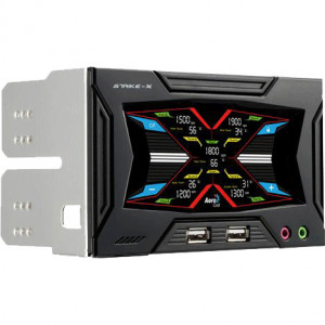 Aerocool Strike-X 5-Channel LCD Touch Screen Fan Controller