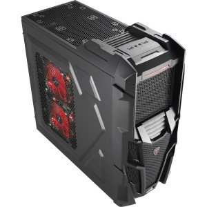 Aerocool Mechatron Black Mesh Edition ATX Middle Tower Computer Case