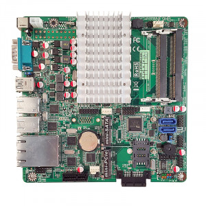 Jetway NF9HB-2930 NF9HB Mini-ITX Motherboard, Intel Celeron N2930 SoC Processor, DDR3-1333, SATA 3Gb/s, 4x Gigabit LAN, COM Port, USB3.0.