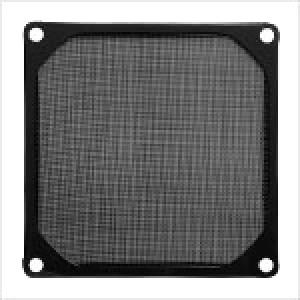 Black EverCool Aluminum Mesh Fan Filter for 120mm Case Fan