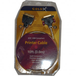 10 Feet GoldX Printer Cable