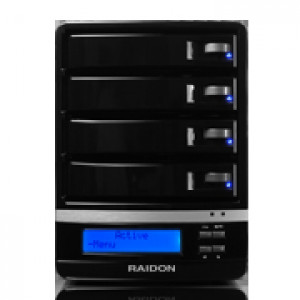 Raidon SafeTANK 4 x 3.5in SATA II to eSATA / USB3.0 External Hard Drive Enclosure