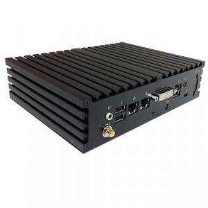 Jetway HBJC371F35W-T40E-B Black Barebone System JBC371F35W-T40E-B, AMD G-T40E APU, Integrated AMD Ra