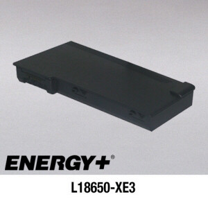 Replacement Extended Capacity Intelligent Li-Ion battery for HP OmniBook XE3 Series