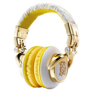 White Thermaltake Tt eSPORTS CHAO DRACCO Signature Series 3.5mm Connector Headphone