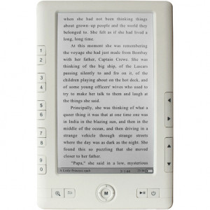 Iview 700EBT 7in Color LCD E-Book Reader, 400:1, 200cd/m2, Built in 2GB Storage.