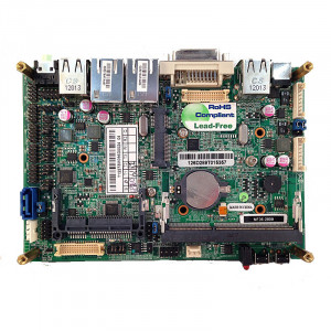 Jetway JNF36-2600 BGA559 Motherboard, Intel Atom Dual Core N2600 Processor, PowerVR SGX 545 Integrated Graphic, DDR3 1066, Gigabit LAN, DVI, VGA.