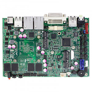 Jetway NF3D LGA1170 Motherboard JNF3D4-2930, Intel Celeron N2930 SoC Processor, Intel HD Graphics, 4GB DDR3L Onboard, Gigabit LAN, DVI-I, USB3.0.