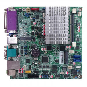 Jetway JNF9T-2930 NF9T Mini-ITX Motherboard, Intel Celeron N2930 and Atom E3827 SoC Processors, DDR3L 1333, SATA 3Gb/s, Gigabit LAN, HDMI, VGA, Parallel Port, COM Port, USB3.0, 2.1-Ch HD Audio.