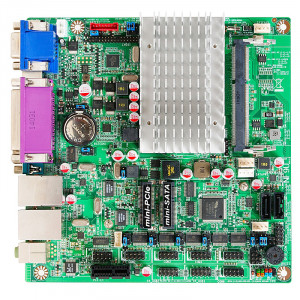 Jetway JNF9U-2930 NF9U Mini-ITX Motherboard, Intel Celeron N2930 SoC Processor, DDR3L 1333, SATA 3Gb/s, Gigabit LAN, HDMI, VGA, Parallel Port, COM Port, USB3.0, 2.1-Ch HD Audio.