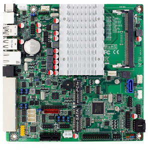 Jetway JNF9VT-2930 NF9VT Mini-ITX Motherboard, Intel Celeron N2930 SoC Processor, DDR3L 1333, SATA 3Gb/s, Gigabit LAN, USB3.0, 2.1-Ch HD Audio.