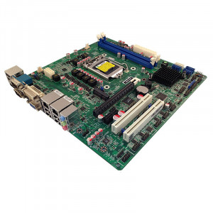 Jetway JNMF92-H61 Socket1155 Micro ATX Motherboard, Intel Core i7 CPU, Intel Core processor with Intel HD Graphics, DDR3 1333MHz, Gigabit LAN, DVI-I, VGA, HDMI, USB.