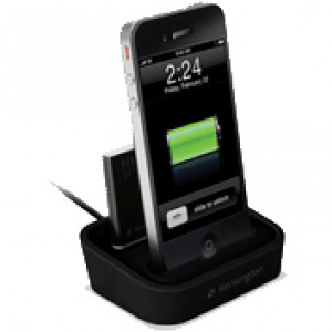 Kensington Charging Dock, for iPhone and iPod, w/ Mini Battery Pack, Model: K39265US