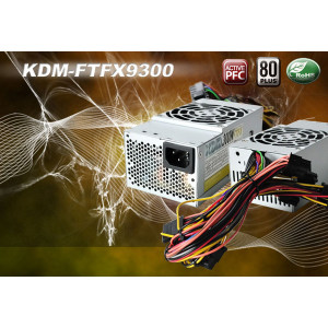 KDM 300W TFX12V Computer Power Supply KDM-FTFX9300