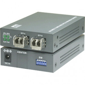 KTI KGC-311-LX Industrial Multimode to Single Mode Optical Fiber Media Converters. SFP LC Multimode.