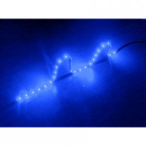Logisys Blue 24in 12V LED Strip Light