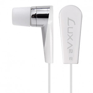 White Thermaltake LUXA2 3.5mm Gold Connector F2 In-ear Earphone with Magnetism