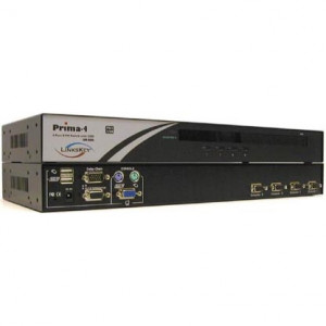 "Linkskey Prima 4-Port 19"" Cascadable Rackmount USB PS/2 KVM Switch"