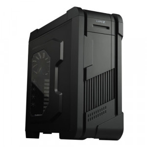 LEPA LPC801A-B E-ATX Full-Tower Computer Case, 3 x 5.25in Bays, Front USB3.0, HD Audio, Fan Controller, w/ 2 x 200mm and 1 x 140mm Fans.