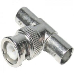 BNC Male to BNC T Female Adapter, Model: LTA1013