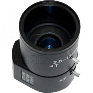 LTS 1/3in 2.8-12.0mm Auto IRIS Vari-Focal Camera Lens, Model: LTL281211