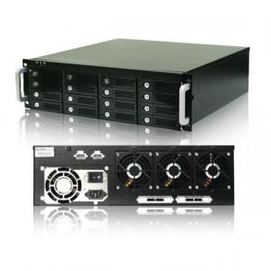 RaidAge mAge316U40-4MS External 3U 16 Bays Hot-Swap SAS/SATA Rackmount Enclosure