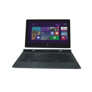 Iview MAGNUSII 10.1in IPS Ultra Portable Laptop-Tablet Hybrid, Intel Atom Processor Z3735F, 2GB RAM,
