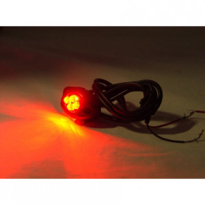 Red Logisys 4 LED Spotty Light