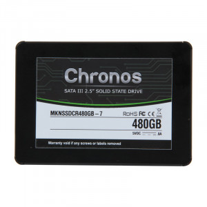 Mushkin Chronos MKNSSDCR480GB-7 2.5in 480GB SATA III 7mm Internal Solid State Drive (SSD)