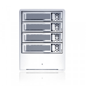 Sans Digital 4-Bay SATA to USB2.0 / eSATA Hardware RAID Enclosure