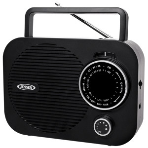 Spectra Jensen MR-550 Portable AM/FM Radio (Black)