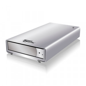 Sans Digital MobileSTOR MS1CT+ 1 Bay SATA to USB 3.0 / eSATA / 1394b Single Bay Enclosure