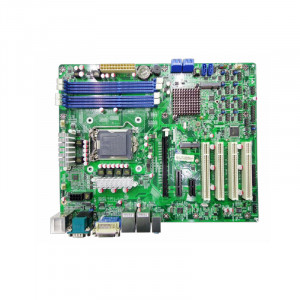 Jetway NAF93-B75 NAF93 LGA 1155 ATX Motherboard, Supports 3 Gen Intel Core i7 Processor, DDR3-1600, SATA 6Gb/s, 2x Gigabit LAN, HDMI, DVI, COM Port, USB3.0, 5.1-Ch HD Audio.