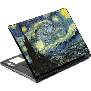 DecalSkin Starry Night Laptop Skin