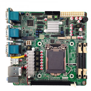 Jetway NC9S-B85 NC9S LGA 1150 Mini-ITX Motherboard, Supports 4th Generation Intel Core i7 / i5 / i3 / Pentium Processor, Dual DDR3 1600, SATA 6Gb/s, Gigabit LAN, 3xVGA, USB3.0, 5.1-Ch Audio.