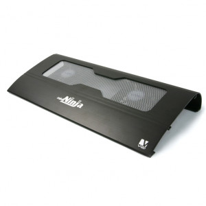 Black Vizo NCL-231-BK 7in-15.4in Notebook Cooler
