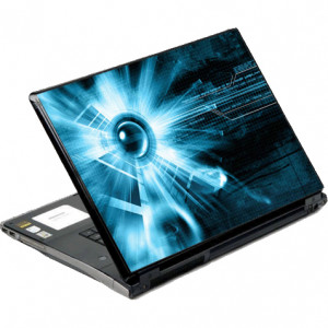 DecalSkin Lighten Bullet Laptop Skin