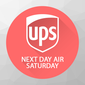 **Saturday Delivery for UPS Next-Day Air, - shipping option/upgrade