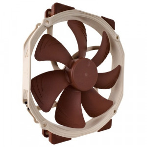 Noctua NF-A15 PWM 140mm SSO2-Bearing Premium Quality Quiet Fan with Round Frame