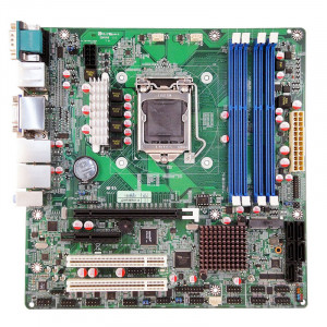 Jetway NMF95-Q87 LGA 1150 Micro ATX Motherboard, Supports 4th Generation Intel Core i7 / i5 / i3 / P