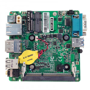 Jetway JNU91-2930 NU91 NUC Motherboard, Intel Bay Trail-M N2930 SoC Processor, DDR3L 1333, Intel HD Graphics, Gigabit Ethernet, HDMI, USB 3.0.